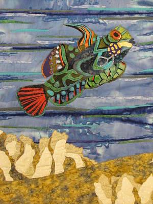 In The Reef Art Print by Lynda K Boardman