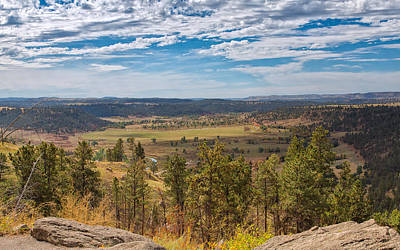 Photograph - In The Shadow Of Devils Tower by John M Bailey