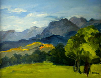 Painting - In The Shadow Of The Uncompahgre by Sally Bullers