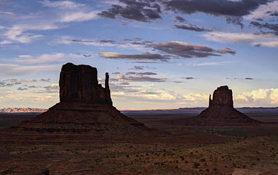 Photograph - In The Shadows Of Monument Valley  by Saija  Lehtonen