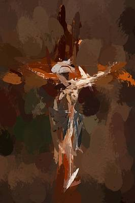 In The Sign Of The Cross Art Print by Steve K