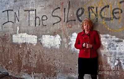 Photograph - In The Silence Older Woman by Valerie Garner