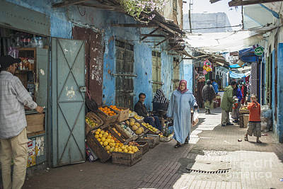 Allah Photograph - In The Souk by Patricia Hofmeester