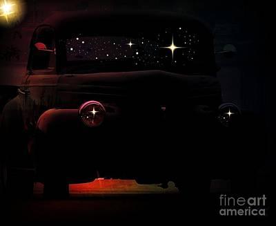In The Still Of The Night Art Print by Bobbee Rickard