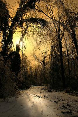 Luminism Photograph - In The Stillness Of Winter by Nina Fosdick
