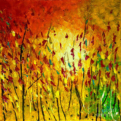Painting - In The Sunshine by Preethi Mathialagan