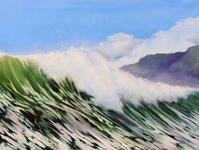 Painting - In The Surf by Neil Kinsey Fagan