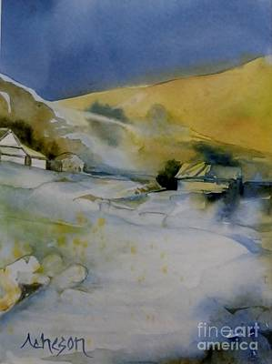 Painting - In The Vercors by Donna Acheson-Juillet