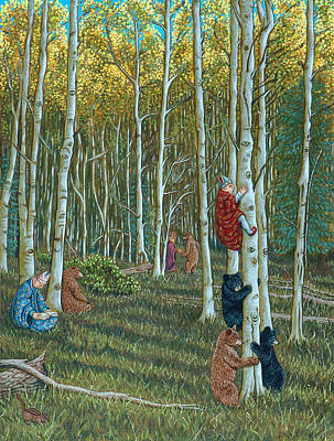 In The Woods Original by Holly Wood