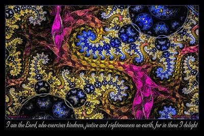 Digital Art - In These I Delight by Missy Gainer