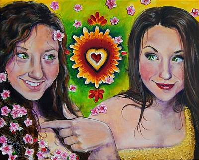 Self-acceptance Painting - In This Skin by Gretchen  Smith