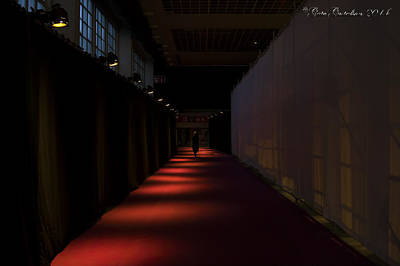 Exiting Through Darkness Art Print by Gate Gustafson