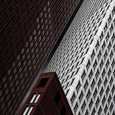 Skyscraper Photograph - In Tribulation by Gilbert Claes