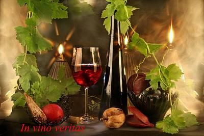 Vino Photograph - In Vino Veritas by Manfred Lutzius