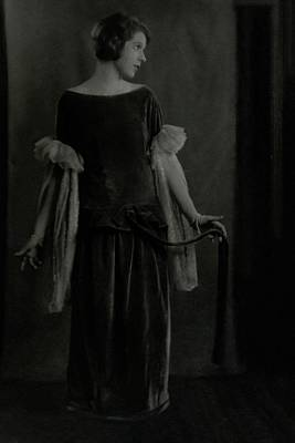 Ina Photograph - Ina Claire In The Awful Truth by Arnold Genthe
