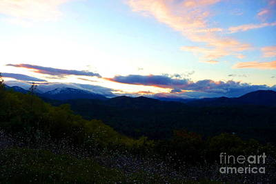 Sunset Photograph - Inaja Sunset by Joshua Greeson