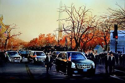 Inaugural Painting - Inaugural by Ron Bigony