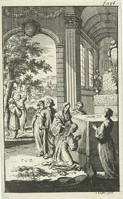 Inauguration Of Pyrophylactic Virgins, Jan Luyken Art Print