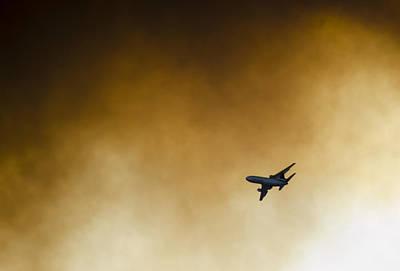 Photograph - Inbound  by Alan Marlowe