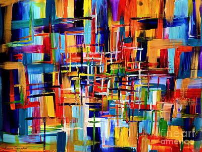 Inca Maze Original by Emma  Campbell