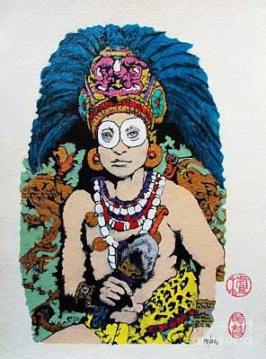 Inca  Royalty Original by Roberto Prusso