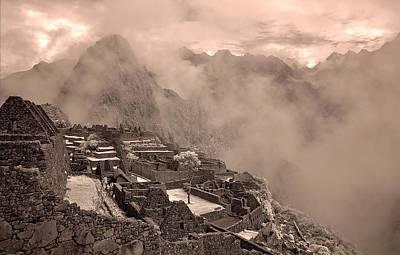 Photograph - Inca Ruins Machu Picchu Peru by Erik Poppke