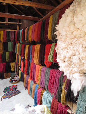 Photograph - Incan Wool by Alison Stein