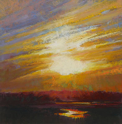 Cape Cod Painting - Incandescence by Ed Chesnovitch