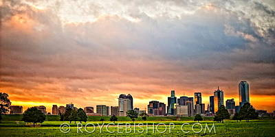 Photograph - Incandescent Skyline by Royce Bishop