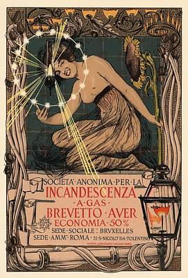 Incandescenza A Gas Art Print by Gianfranco Weiss