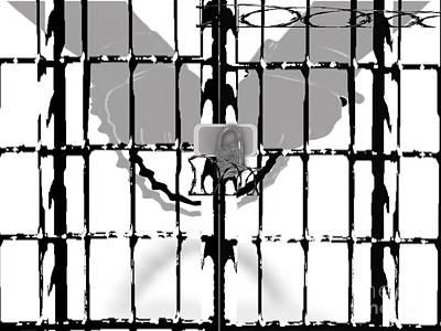 Painting - Incarceration by Belinda Threeths