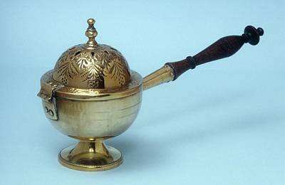 Incense Burner Print by Science Photo Library