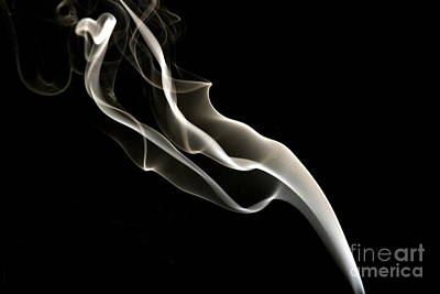 Incense Smoke Art Print by Arie Arik Chen