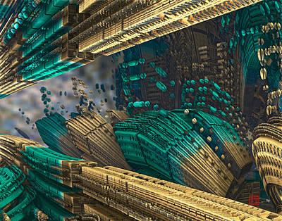 Digital Art - Inception by David Jenkins