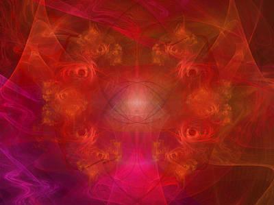 Pathway Digital Art - Inception Of A Dream by Elizabeth S Zulauf
