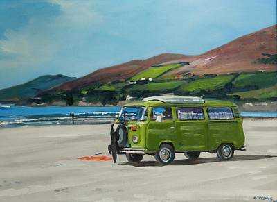 Painting - Inch Beach by Robert Teeling