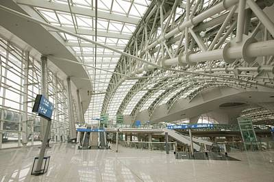Seoul Photograph - Incheon Airport In Seoul by Ashley Cooper