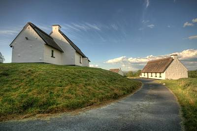 Inchiquin Cottages Original by John Quinn
