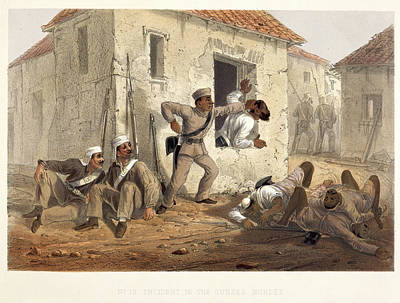 Incident In The Subzee Mundee Art Print by British Library