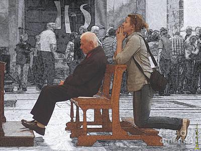 Sicily Digital Art - Incognite E Certezze by Renato Ventura