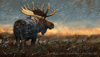 Animal Digital Art - Incoming by Aaron Blaise
