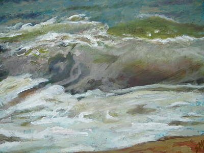 Painting - Incoming by Sheila Holland