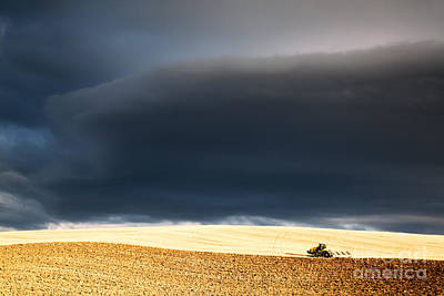 Landscape Photograph - Incoming Storm by Matteo Colombo