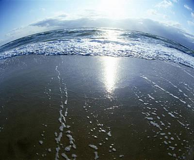Vesterhavet Tides Original by Jan W Faul