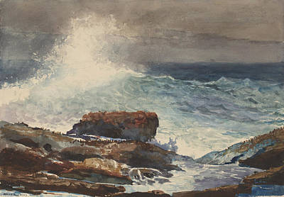 Incoming Tide Painting - Incoming Tide by Celestial Images