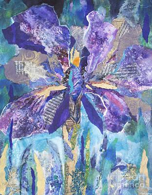 Incredible Iris Art Print by Kate Bedell
