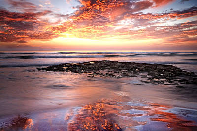 Photograph - Incredible Sunset by Julianne Bradford