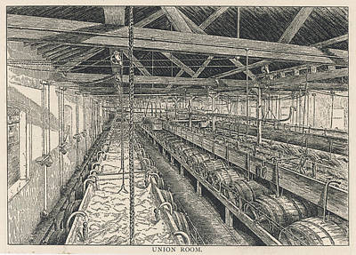 Ind Coope Brewery, Burton Art Print by Mary Evans Picture Library
