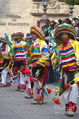 Photograph - Independence Day Parade - San Miguel De Allende Mexico by Craig Lovell