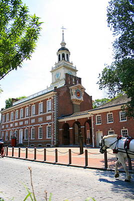 Photograph - Independence Hall by Angela Rath